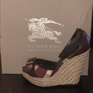 Burberry Heritage Check Wedges